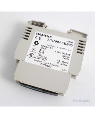 Siemens Ausgangskoppelglied 3TX7004-1BB00 NOV