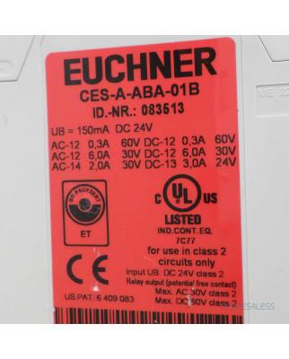 Euchner Auswerteeinheit CES-A-ABA-01B 083513 GEB