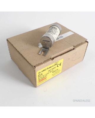 SIBA Sicherungseinsatz/ Fuse-link 63STIS 5000201 63A...