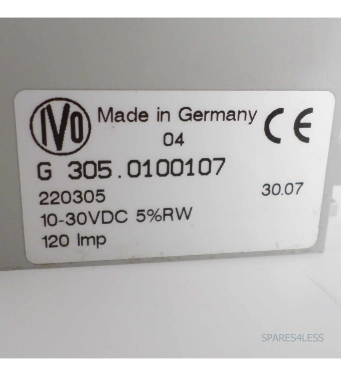 Baumer electric Drehgeber G 305.0100107 NOV