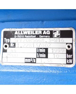 ALLWEILER AG Schraubenpumpe SPF20R56 G8.3-W16 10bar GEB