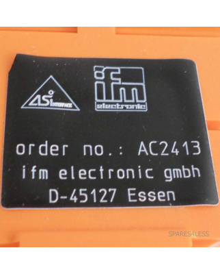 ifm AS-Interface CompactLine M12 4SB/FC AC2413 OVP