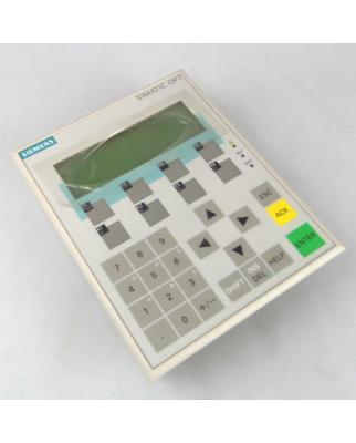 Simatic OP7-PP 6AV3 607-1JC00-0AX1 E-Stand:02 GEB
