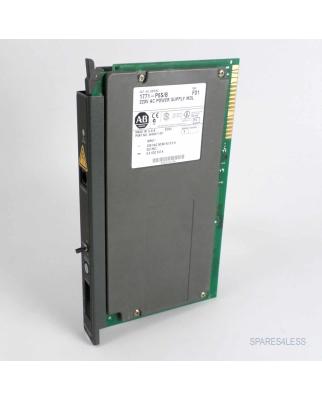 Allen Bradley 220V AC Power Supply MDL 1771-P6S/B...