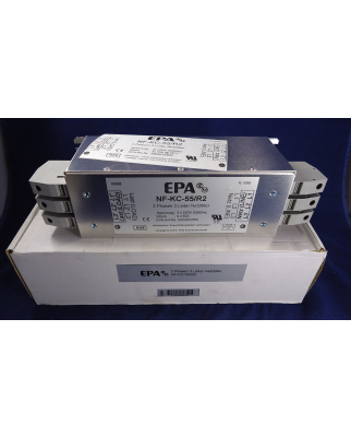 EPA 3 Phasen 3 Leiter Netzfilter NF-KC-55/R2 5003KC055I OVP