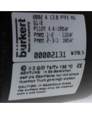 bürkert 2/2-Wege-Schrägsitzventil 2002 A 13,0...