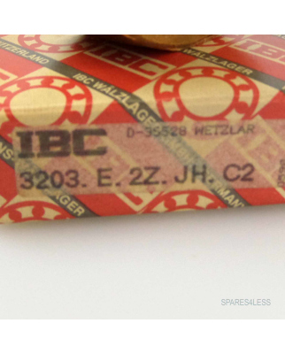 IBC Kugellager 3203.E.2Z.JH.C2 OVP