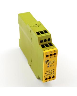Pilz Kontaktblock PZE X4V 0,5/24VDC 4n/o fix 774580 GEB