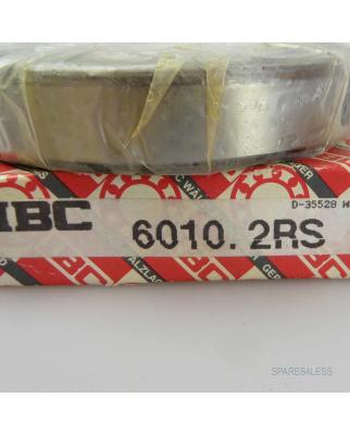 IBC Kugellager Rillenkugellager 6010.2RS OVP