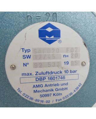 AMG-PESCH Schwenkantrieb SAF020 F07 GEB
