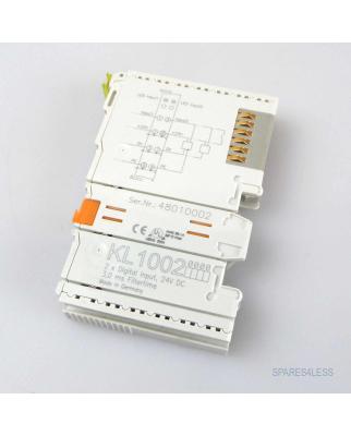 Beckhoff 2-Kanal-Digital-Eingangsklemme KL1002 GEB