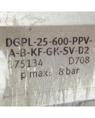 Festo Linearantrieb DGPL-25-600-PPV-A-B-KF-GK-SV-D2...