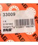 FAG Kugellager Kegelrollenlager 33009 OVP