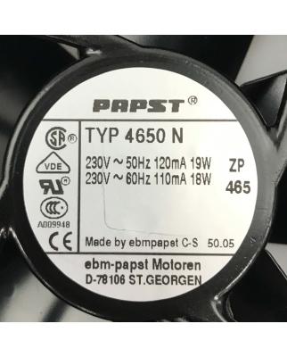 ebm-papst Lüfter 4650N 230V GEB