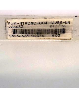 INDRAMAT 9 Slot MT-CNC Rack FWA-MT*CNC-004-16VRS-NN GEB
