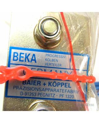 BAIER + KÖPPEL Prog. Kolben Verteiler PF1320 NOV