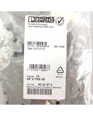 Phoenix Contact Abdeckprofil AP3-TNS35 5022672 (10Stk.) OVP