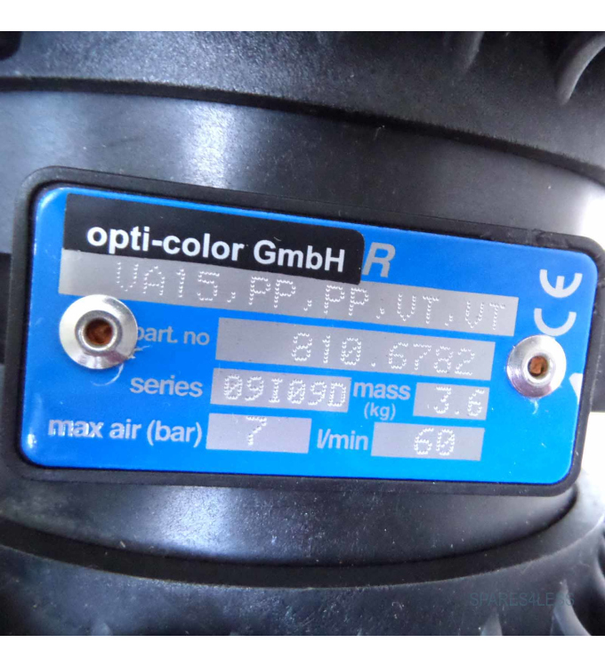 opti-color GmbH Pumpe VA15-PP-PP-VT-VT 810.6782 NOV