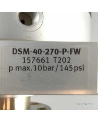 Festo Drehmodul DSM-40-270-P-FW 157661 GEB/OVP