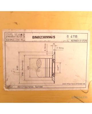 Bahmüller Schleifspindel BN0230996/5 OVP #K2