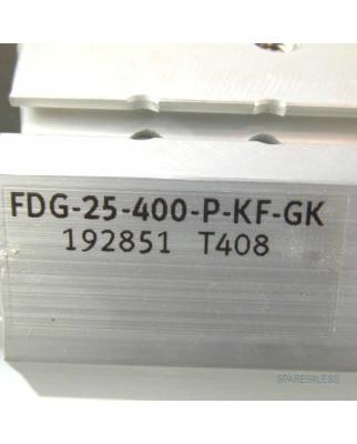 Festo Führungseinheit FDG-25-400-P-KF-GK NOV