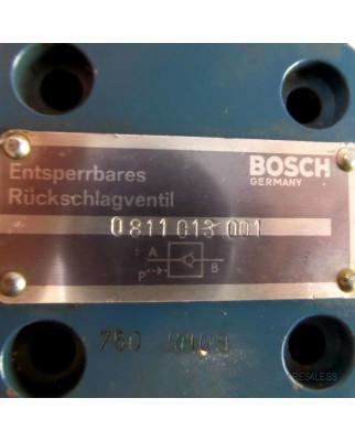 Bosch Entsperrbares Rückschlagventil 0811013001 GEB