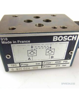 Bosch Durchflussregelventil 0811024105 GEB