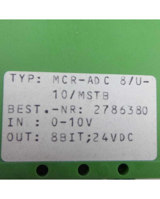 Phoenix Contact Analog/Digital Konverter MCR-ADC...