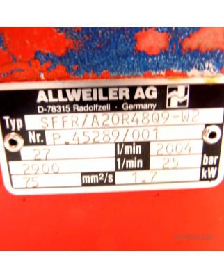 ALLWEILER AG Pumpe SFFR/A20R48Q9-W2 25bar GEB