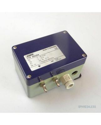 JUMO Druck-und Differenzdruck-Messumformer 404304 GEB