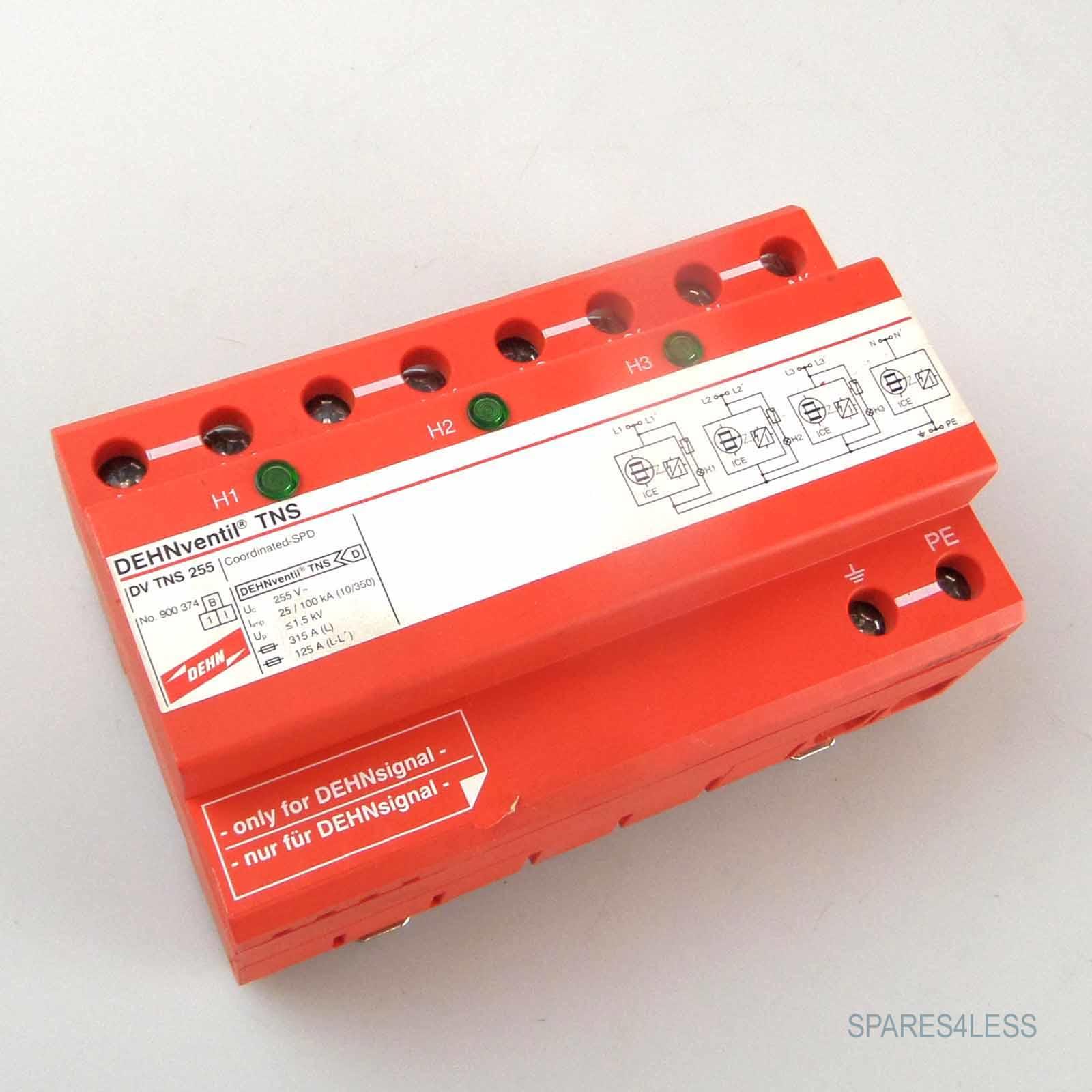 DEHN DV TNS 255 - DEHNventil TNS Kombi-Ableiter - spares4less ...