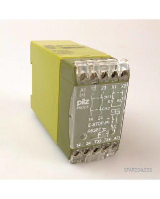 Pilz Sicherheitsschaltgerät PNOZ 5 24VDC 2S 474590 GEB