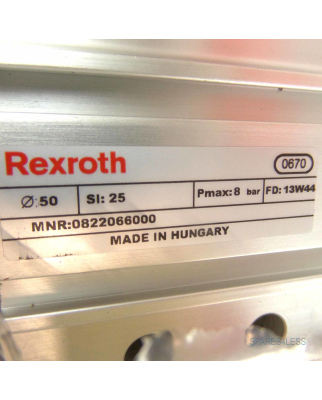 Bosch Rexroth Führungszylinder MNR: 0822066000 OVP