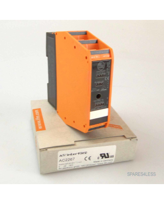 ifm AS-Interface AC2267 SmartLine25 4DI 4DO T C AUX OVP