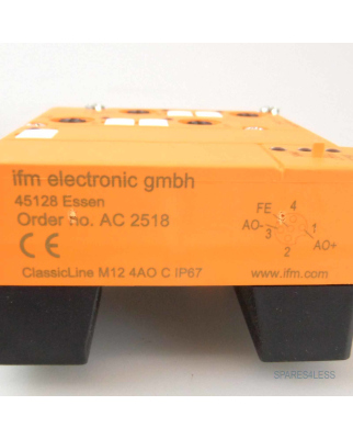 ifm AS-Interface ClassicLine90 4AO (C) M12 IP67 AC2518 OVP