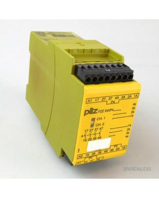 Pilz Sicherheitsschaltgerät PZE X4VP4 24VDC 4n/o...