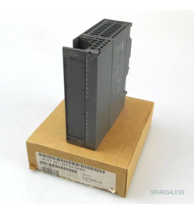Simatic S7-300 SM331 6ES7 331-7KF02-0AB0 E-Stand:04 OVP