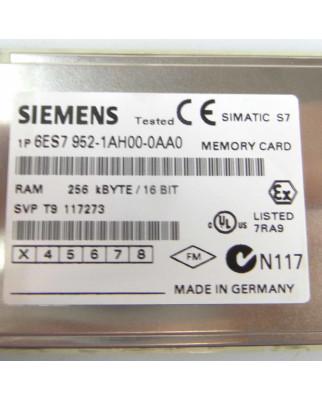 Simatic S7 MC952 6ES7 952-1AH00-0AA0 256KB GEB