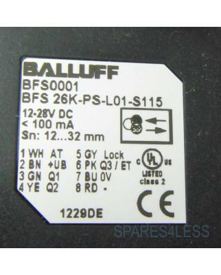 Balluff optoelektronischer Sensor BFS 26K-PS-L01-S115 OVP