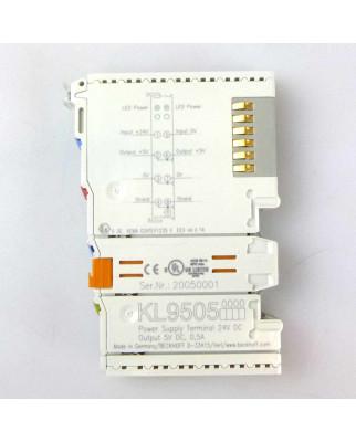 Beckhoff Netzteilklemme KL9505 GEB