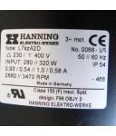 Hanning Lüftermotor L7kzA2D 280/320W GEB