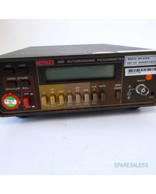 KEITHLEY 485 Autoranging Picoammeter MC-366 Rev.A GEB