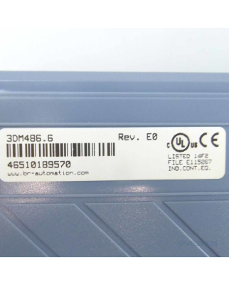 B&R Digitales Mischmodul DM486 3DM486.6 Rev.E0 GEB