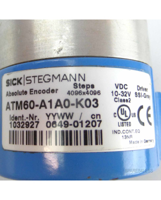 Sick Absolut-Encoder ATM60-A1A0-K03 1032927 GEB