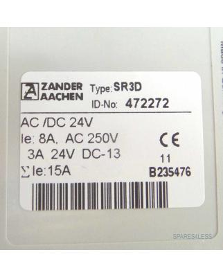 Zander Aachen Sicherheitsschaltgerät SR3D 472272 24V NOV
