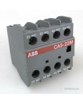 ABB Hilfskontaktblock CA5-22M GEB