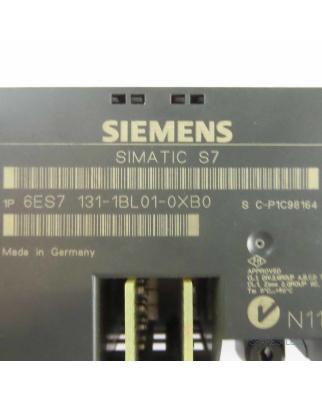 Simatic S7 ET200L 6ES7 131-1BL01-0XB0 GEB #K2