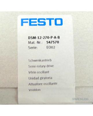 Festo Schwenkantrieb DSM-12-270-P-A-B 547570 SIE