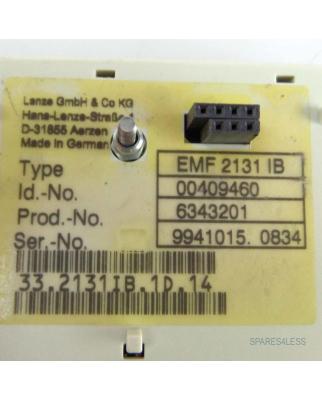 Lenze Kommunikationsmodul Profibus-DP EMF2131IB 00409460 GEB