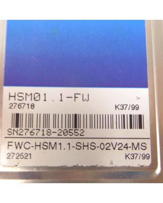 Indramat Speicher Modul HSM01.1-FW FWC-HSM1.1-SHS-02V24-MS GEB